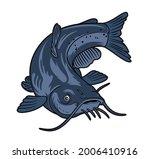 Catfish Vector Illustration...