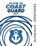 u.s. coast guard day in united...   Shutterstock .eps vector #2006426063