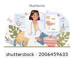 nutritionist concept. nutrition ... | Shutterstock .eps vector #2006459633