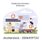 innovative healthcare industry...   Shutterstock .eps vector #2006459723