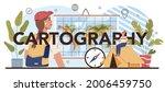 cartography typographic header. ... | Shutterstock .eps vector #2006459750