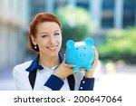 closeup portrait happy  smiling ... | Shutterstock . vector #200647064