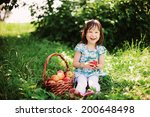 little girl. | Shutterstock . vector #200648498