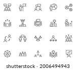 set of business people line... | Shutterstock .eps vector #2006494943