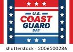 u.s. coast guard day in united...   Shutterstock .eps vector #2006500286