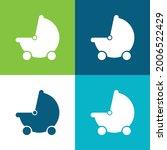 baby black stroller transport... | Shutterstock .eps vector #2006522429