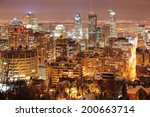 montreal cityscape | Shutterstock . vector #200663714