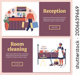hotel service workers for...   Shutterstock .eps vector #2006639669