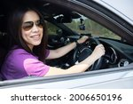 asian woman sittng and smiling... | Shutterstock . vector #2006650196