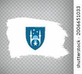 flag of ankara brush strokes....