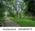 Local Neighborhood Park In An...
