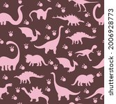 seamless pattern with cute...   Shutterstock .eps vector #2006928773