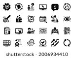 vector set of business icons... | Shutterstock .eps vector #2006934410