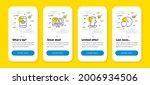 vector set of smartphone buying ...
