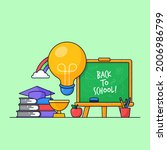 back to school poster visual... | Shutterstock .eps vector #2006986799