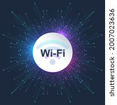 wi fi wireless connection... | Shutterstock .eps vector #2007023636