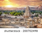 virupaksha temple view from... | Shutterstock . vector #200702498