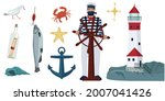 A Set Of Sea Attributes.  An...