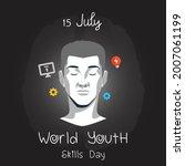 world youth skills day vector... | Shutterstock .eps vector #2007061199