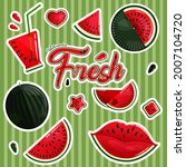 a set of images of fresh...   Shutterstock .eps vector #2007104720