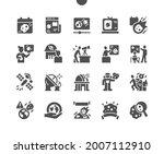 asteroid day 30 june. satellite ...   Shutterstock .eps vector #2007112910
