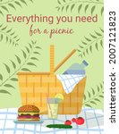 everything you need for a... | Shutterstock .eps vector #2007121823