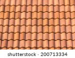 Seamless Orange Roof Tile...