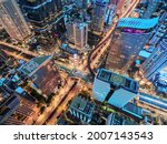 Aerial View Traffic In...