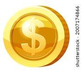gold medal coin money symbol....