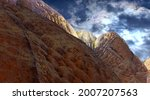 Mountains In A 3d Fractal...