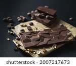 Homemade Natural Chocolate With ...