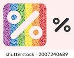 dotted mosaic percent... | Shutterstock .eps vector #2007240689