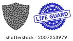 life guard unclean seal...   Shutterstock .eps vector #2007253979