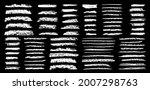 coal pencils strokes grunge... | Shutterstock .eps vector #2007298763