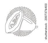 continuous one line drawing... | Shutterstock .eps vector #2007376403