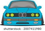 german drift and stance car...   Shutterstock .eps vector #2007411980