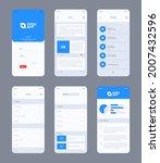 smartphone ui. design web...