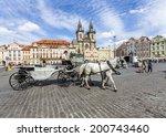 prague  czech republic   june... | Shutterstock . vector #200743460