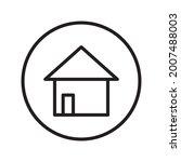 home button icon design vector...