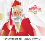 santa claus | Shutterstock .eps vector #200749940