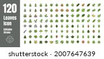 spring and autumn leaf filled... | Shutterstock .eps vector #2007647639