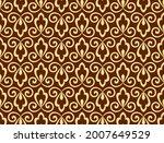 flower geometric pattern....   Shutterstock .eps vector #2007649529