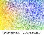light multicolor vector shining ... | Shutterstock .eps vector #2007650360
