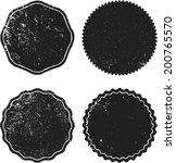 set of grunge stamp  | Shutterstock .eps vector #200765570