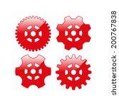 cogwheel and development icon