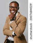 cheerful african american...   Shutterstock . vector #2007684029