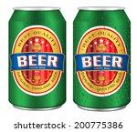 beer label vector visual on... | Shutterstock .eps vector #200775386