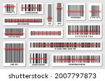 set of product barcodes with...   Shutterstock .eps vector #2007797873