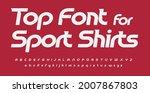 sport font alphabet sport... | Shutterstock .eps vector #2007867803