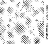 grunge seamless pattern   Shutterstock .eps vector #200787809